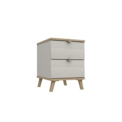 Derwent 2 Drawer Bedside