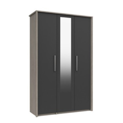 Arundel Tall 3 Door Wardrobe With Mirror