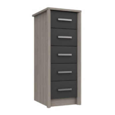 Arundel 5 Drawer Tallboy