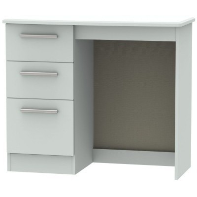 Knightsbridge Matt Grey 3 Drawer Dressing Table