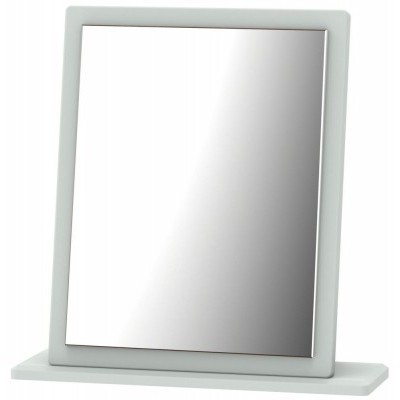Knightsbridge Matt Grey Small Mirror