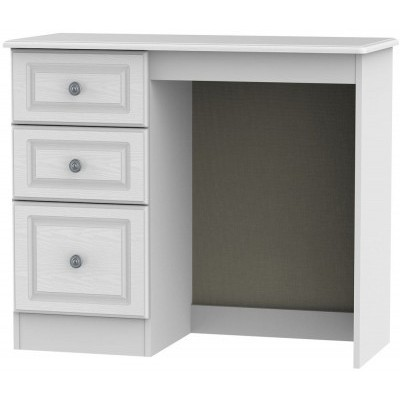 Pembroke White 3 Drawer Dressing Table