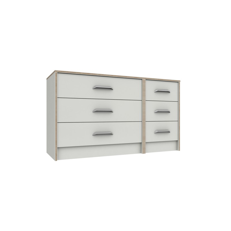 Marlow 3 Drawer Double Chest