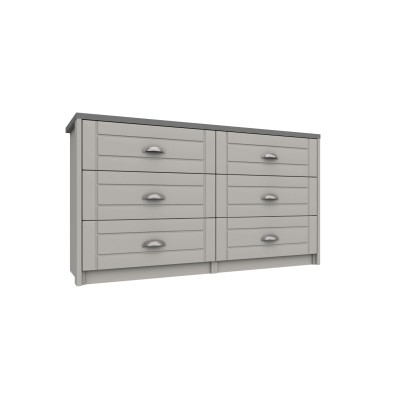 Skye 3 Drawer Double Chest