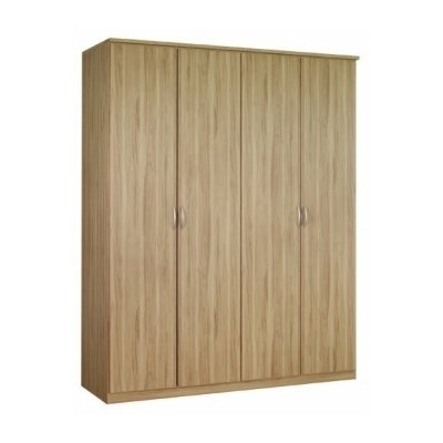Lima Kent Hinged 4 Door Wardrobe Product Code: LIMA4HDWR