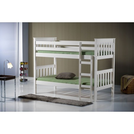 Seattle Ivory Wooden Bunk Bed Product Code: SEABBIVR