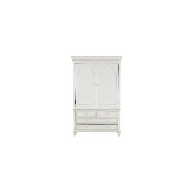 Tuscany White 2 Over 2 Gents Wardrobe Product Code: TUSW2O2GWR