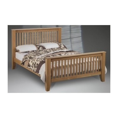 Wooden Beds Kensington High End Oak Bedstead Product Code: kensington